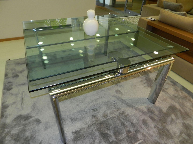 Tavoli In Cristallo Allungabili Reflex.Stoly I Stulya Mobigliore